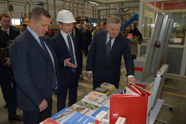Вячеслав Шпорт осмотрел площадки первых резидентов ТОСЭР «Хабаровск»